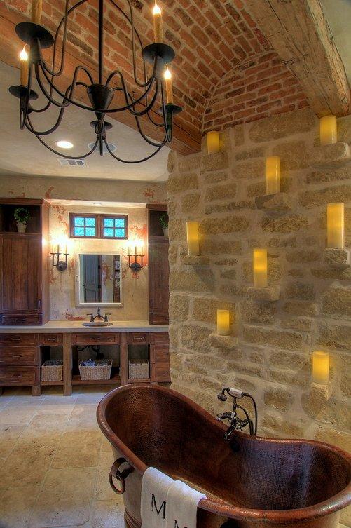 Toscanai hangulatú, mediterrán stílusú otthon Amerikából (30kép)  Szárazépítészeti Design