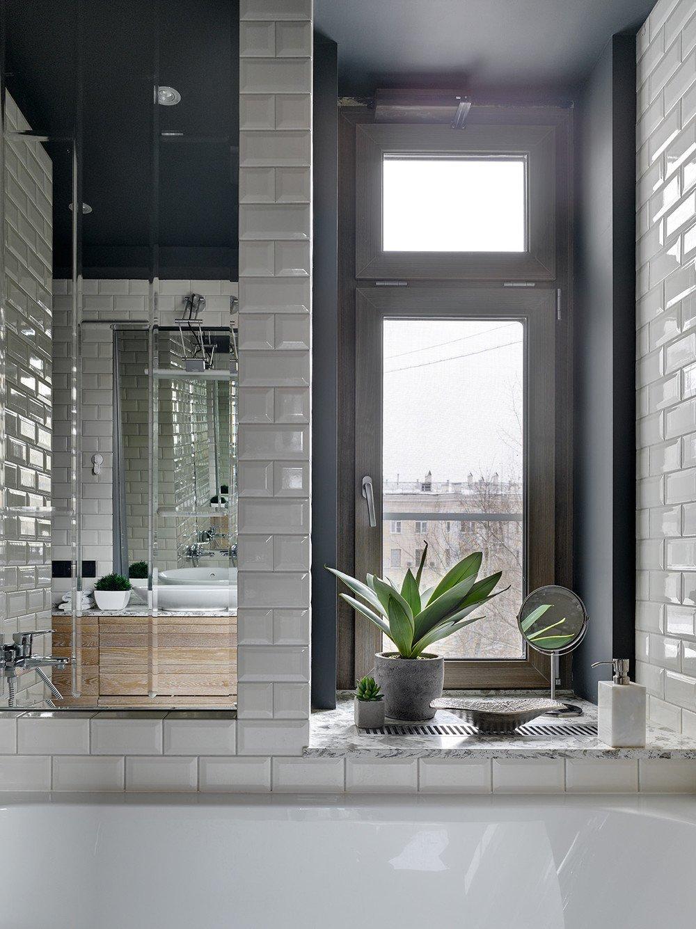 6,2 m2 fürdőszoba loft stílusban (4 kép + alaprajz ...